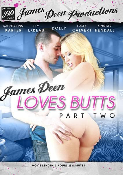 James Deen Loves Butts Part Two Box Cover