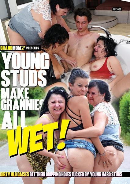 Young Studs Make Grannies All Wet!